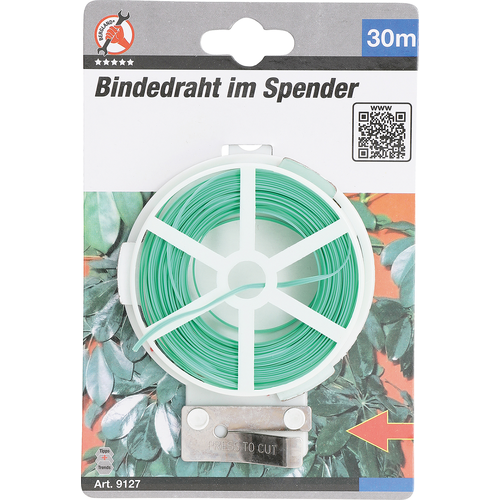 BGS - D-I-Y Binddraad in in dispenser  30 m