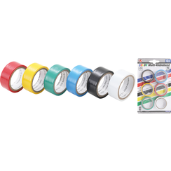 COLOR Tape Roll Set  19 x 3.5 m  6 pcs.