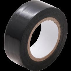 Plakband  zwart  19 mm x 10 m
