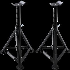Assteun  draagvermogen 3000 kg / paar  slag 335 - 500 mm  1 paar