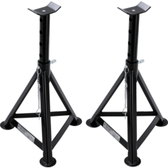 Axle Stands  Load capacity 3000 kg / pair  stroke 335 - 500 mm  1 pair
