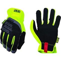 Mechanix Wear Gloves FastFit Hi-Viz Yellow MEDIUM