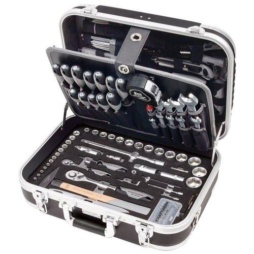 Kraftwerk Tools Kraftwerk 1050 tool case with 230 pcs is easy to carry and organize