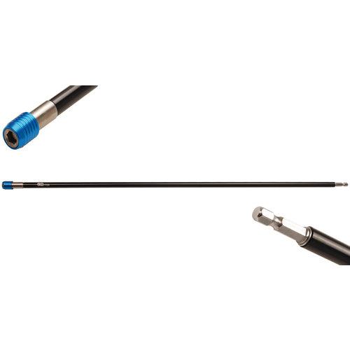 """BGS  Technic Automatische bithouder  binnenzeskant 6,3 mm (1/4"""")  600 mm"""