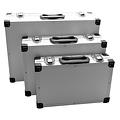 BGS  Technic Aluminium kofferset  3-dlg,