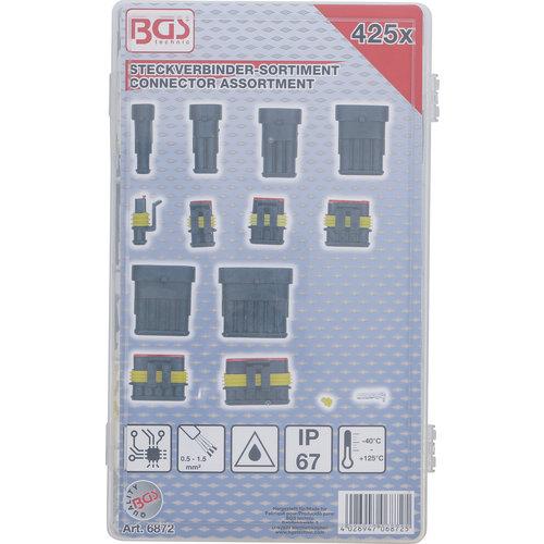 BGS  Technic Assortiment steekverbinders  425-dlg