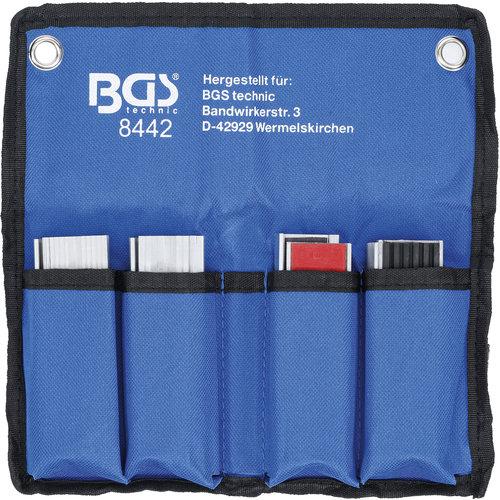 BGS  Technic Beschermbekken-set voor bankschroef  100 mm  8-dlg