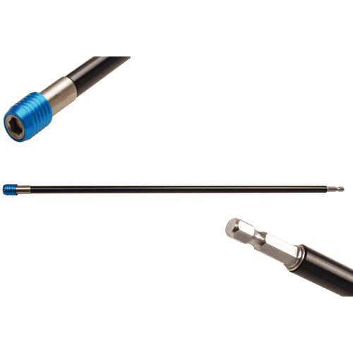 """BGS  Technic Automatische bithouder  binnenzeskant 6,3 mm (1/4"""")  450 mm"""