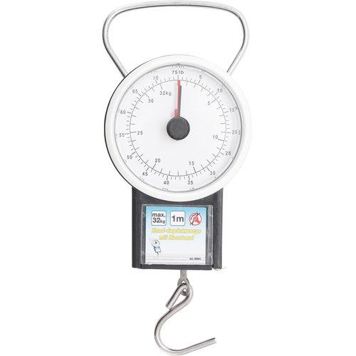BGS - D-I-Y Bagageweger met rolbandmaat  max. 32 kg