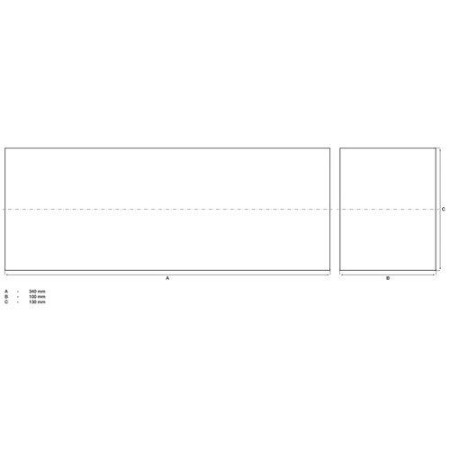 BGS  Technic Beschermingsblok  voor hefplatforms  340 x 130 x 100 mm