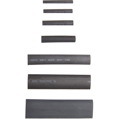 BGS  Technic Assortiment krimpkous  zwart  127-dlg