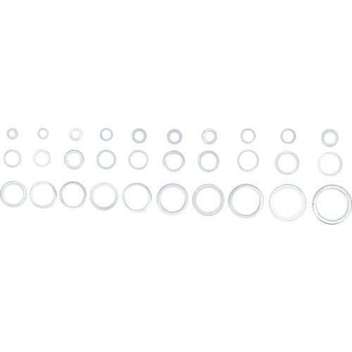 BGS  Technic Assortiment afdichtringen  aluminium  300-dlg