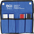 BGS  Technic Beschermbekken-set voor bankschroef  125 mm  8-dlg