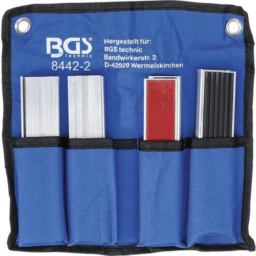 BGS  Technic Beschermbekken-set voor bankschroef  150 mm  8-dlg