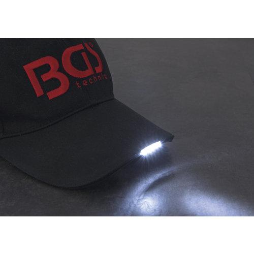 BGS  Technic Baseballpet BGS  met LED-verlichting