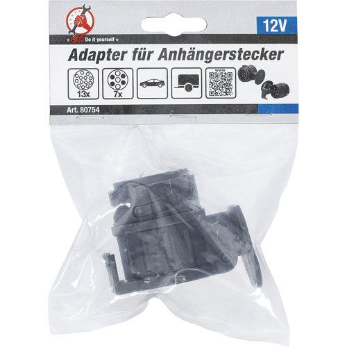 BGS - D-I-Y Adapter voor aanhangerstekker  13-polig naar 7-polig