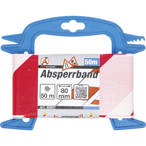 BGS - D-I-Y Afzetband  80 mm x 50 m