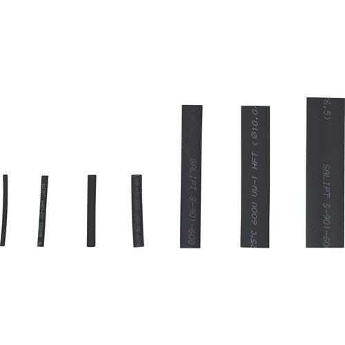 BGS - D-I-Y Assortiment krimpkous  zwart  126-dlg