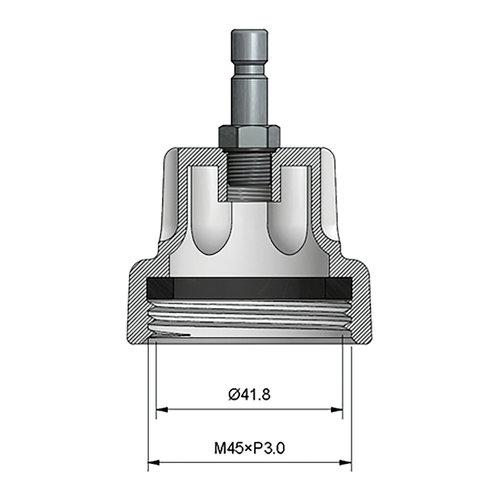 BGS  Technic Adapter 22 voor BGS 8027, 8098  voor BMW