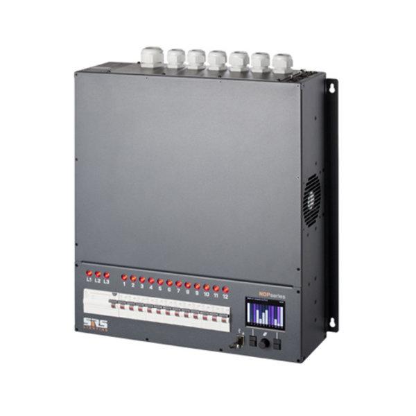 SRS-Lighting* Wanddimmer 12-kanaals NDP met netwerk