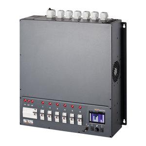 SRS-Lighting* SRS-Light Wanddimmer 6-kanaals NDP met netwerk en RCBO