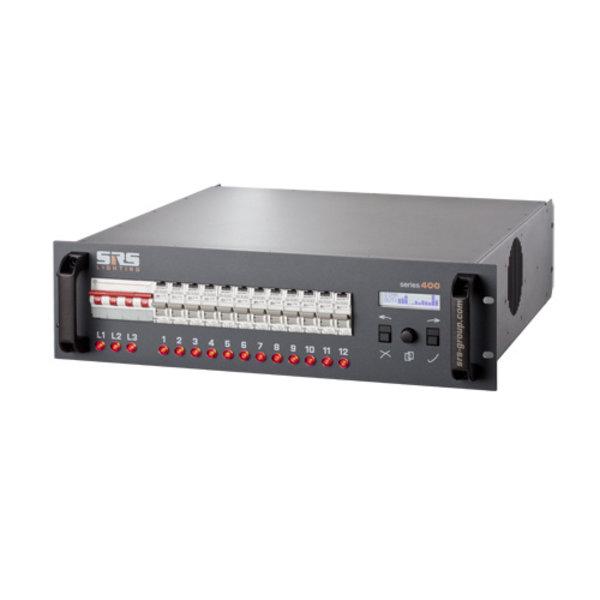 SRS-Lighting* Dimmer 12-kanaals DDP met RCBO Aardlek automaten