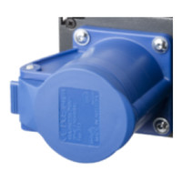 Output connector 6xCEE16/3p bar-6