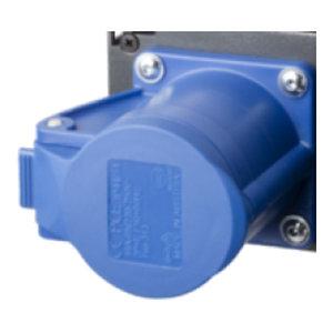 SRS-Light Output connector 6xCEE16/3p dimmerbar 6-kanaals