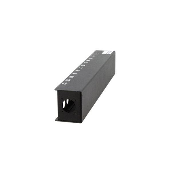 ModulAir* Stageblok 24x D-formaat connectorgaten, Socapex IN/THRU