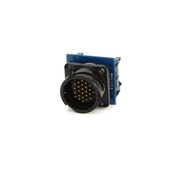 ModulAir* PCB met TEN47 female 25-pins connector
