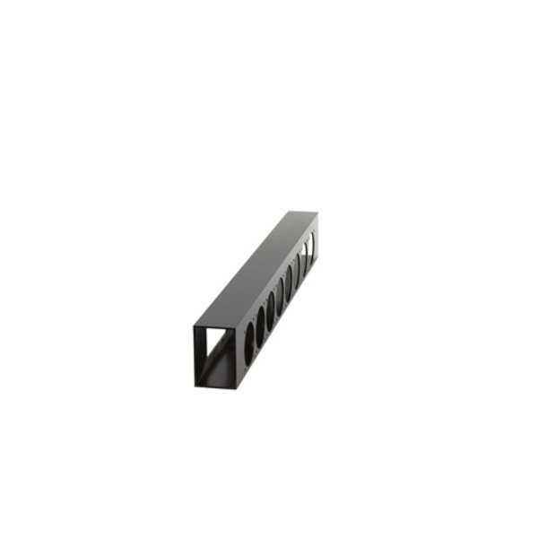 ModulAir* Aluminium harting-breakout, 2x harting, 8x schuko