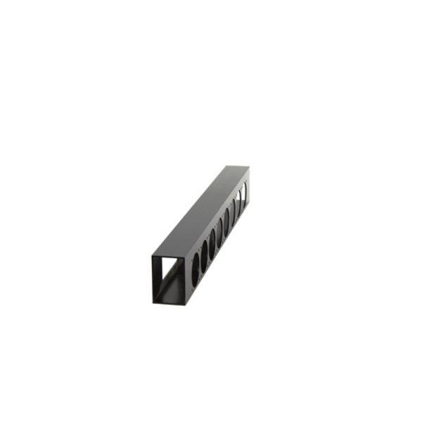 ModulAir* Aluminium verdeeldoos, 2x Harting/16p   8x Schuko