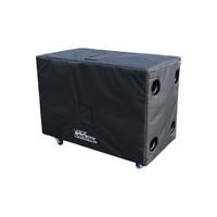 Voice-Acoustic* Subwoofer 2x 18-inch transport en regen hoes voor Paveosub-218