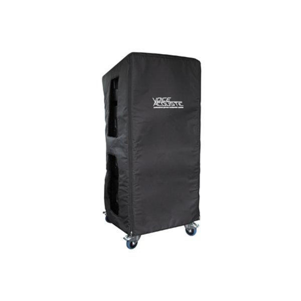Voice-Acoustic* regen- en transporthoes voor 4x Ikarray-12 bij grond stapeling