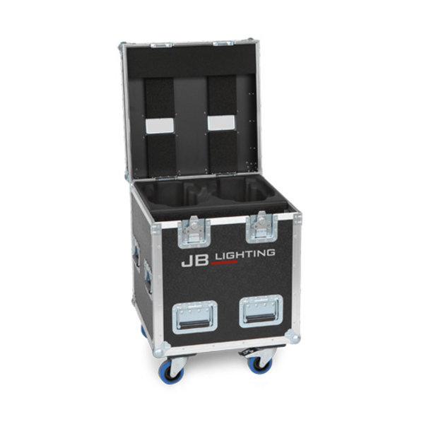 Amptown Flightcase 2x P12 L 60 x B 60 x H 90 cm