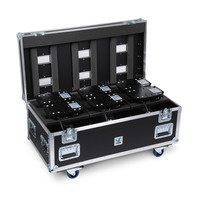 Amptown Flightcase 6x Sparx 7 L 120 x W 60 x H 60 cm