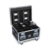 Amptown Flightcase 4x Sparx 7 L 80 x W 60 x H 60 cm