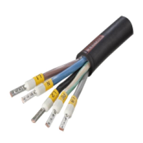 Hard-wire connectie gemonteerd
