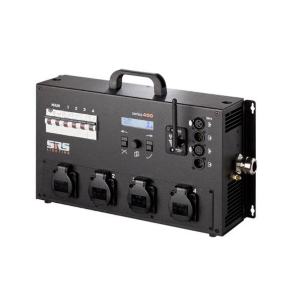SRS-Lighting* Dimmer 4-kanaals met RCBO