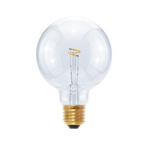 Segula* LED Globe 95 Curved Point helder 2,7W