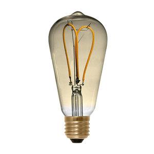 Segula* LED Rustika Curved loop goud | E27 | 4 W (15 W) | 140 Lm | 2.000 K | 50531 |