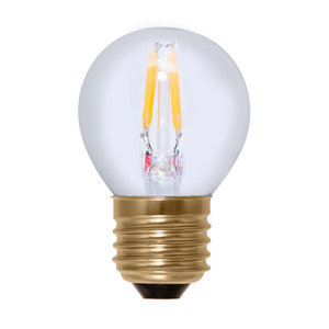 Segula* LED-lamp Golfball clear warm wit| E27 | 2,7 W (15 W) | 140 Lm | 2.200 K | A+ | 50208 |
