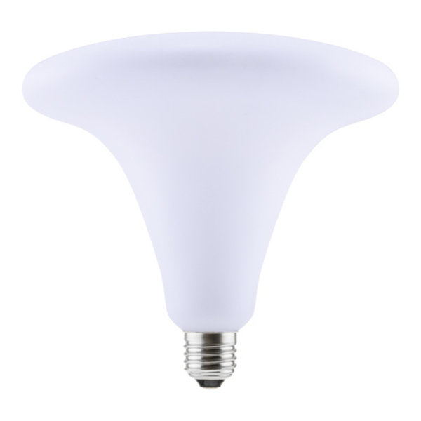 LED Trumpet 200mm Milky Frosted 8W