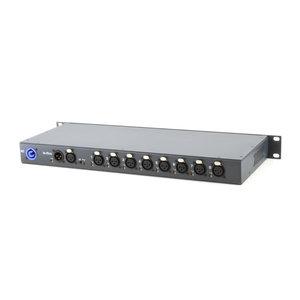 SRS-Lighting* DMX Splitter 8-kanaals backside connection