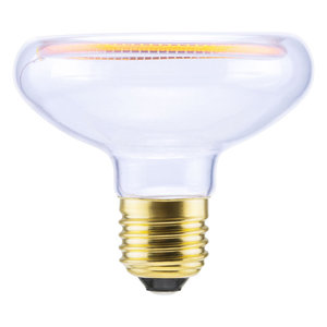 Segula* LED-lamp Floating Zwevende Reflector R80 Helder | E27 | 8 W (234 W) | 380 Lm | 2.200 K | 50042 |
