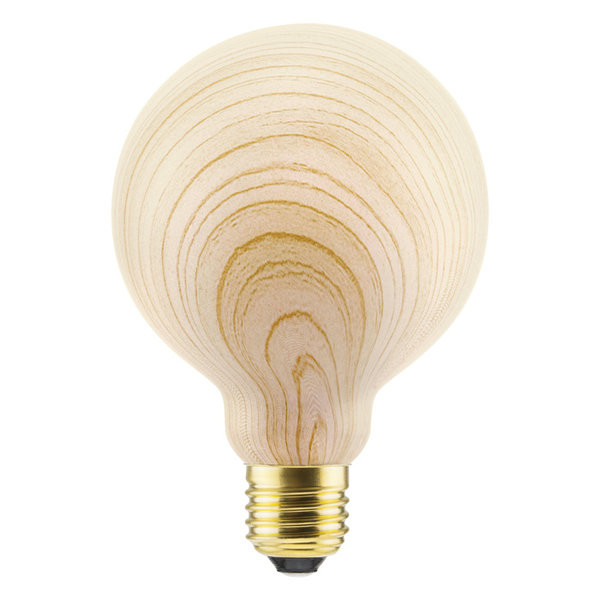 Segula* LED Globe 95 Wood  8W | E27 | 8 W (28 W) | 300 Lm | 2.200 K | 50774
