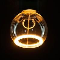 Segula* LED-lamp Floating Zwevende Globe 80 Helder | E27 | 5 W (25 W) | 250 Lm | 2.200 K | 50045 |
