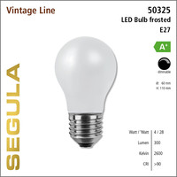 LED- lamp Vintage Bulb Frosted | E27 | 4 W (28 W) | 300 Lm | 2.600 K | 50325 |