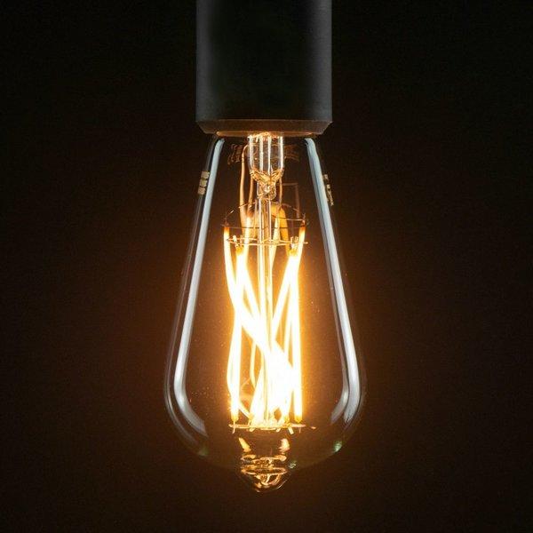 Segula* LED- lamp Vintage Rustica Long Style Helder | E27 | 6 W (35 W) | 400 Lm | 2.200 K | 50298 |