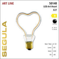 Segula* LED ART Heart | E27 | 8 W (30 W) | 330 Lm | 2.200 K | 50148 |